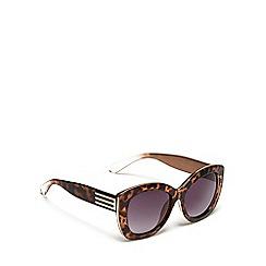 Red Herring - Brown cat eye sunglasses