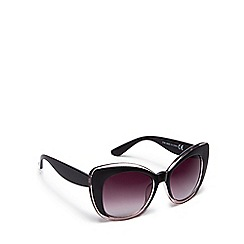 Floozie by Frost French - Brown cat eye sunglasses