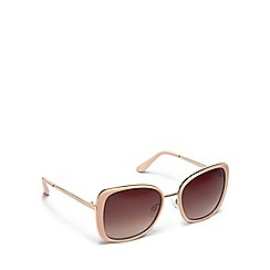 Floozie by Frost French - Cream square sunglasses