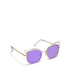 Floozie by Frost French - Rose cat eye sunglasses