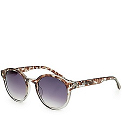Bloc - Bow   Shiny crystal grey tortoiseshell sunglasses
