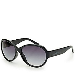 Bloc - Poppy - shiny black sunglasses