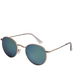 Pilgrim - Brianna gold plated sunglasses