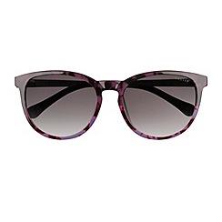 Radley - Radley - purple tortl leather detail 'Tulip' sunglasses