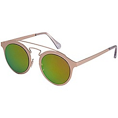 Pilgrim - Sophie rose gold plated multi sunglasses