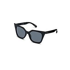 Quay Australia - Black 'Harper' oversized cat eye sunglasses