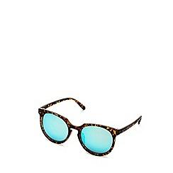 Quay Australia - Tortoise 'Don't Change' round sunglasses