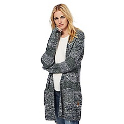Animal - Grey arlo cardigan with wool