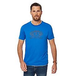 Animal - Bright blue logo print t-shirt