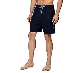 Nike - Navy 'Vital' swim shorts