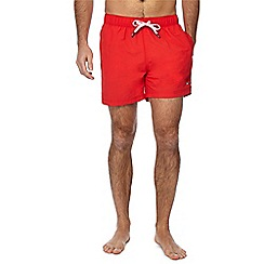 Tommy Hilfiger - Red swim shorts