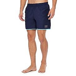 Speedo - Navy contrast trim swim shorts
