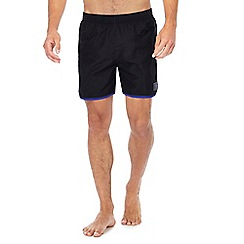 Speedo - Black contrast trim swim shorts