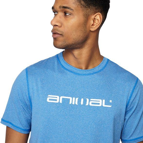 Animal printed shirt Blue t Animal Blue 8fPXd1q