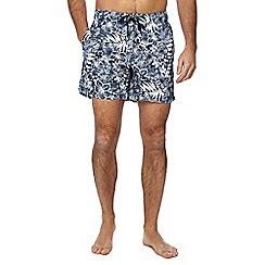 Tommy Hilfiger - Navy hibiscus swim shorts