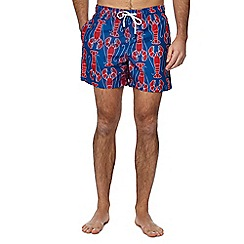 Tommy Hilfiger - Blue lobster print swim shorts