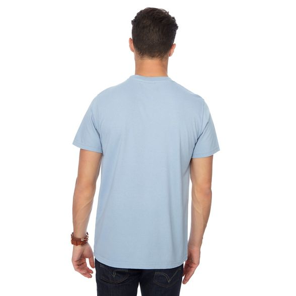 t Fish print shirt blue piranha Weird Light q06aTwwz