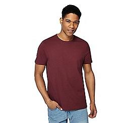 Maine New England - Wine red crew neck beach t-shirt
