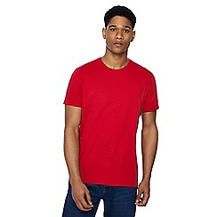 Maine New England - Big and tall red crew neck beach t-shirt