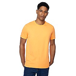 Maine New England - Big and tall orange crew neck beach t-shirt