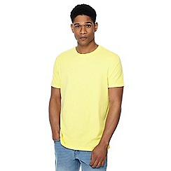 Maine New England - Big and tall bright yellow crew neck beach t-shirt