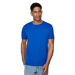 Maine New England - Big and tall bright blue crew neck beach t-shirt