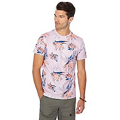 Red Herring - Lilac floral print t-shirt