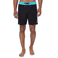 Billabong - Black cut and sew swim shorts