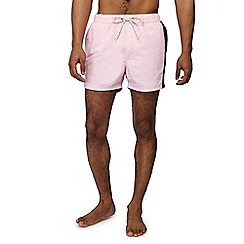Red Herring - Big and tall pink swim shorts