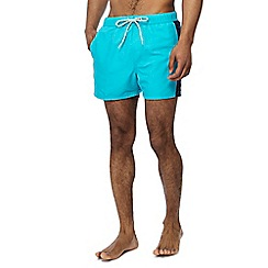 Red Herring - Big and tall aqua swim shorts