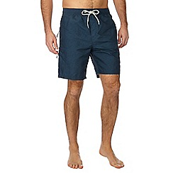 Red Herring - Navy cargo swim shorts