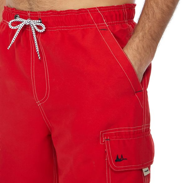 swim shorts Mantaray cargo red Dark fqw60S