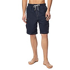 Mantaray - Navy cargo swim shorts