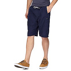 Mantaray - Big and tall navy walking shorts