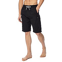 Mantaray - Black walking shorts