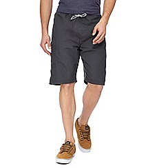 Mantaray - Dark grey walking shorts