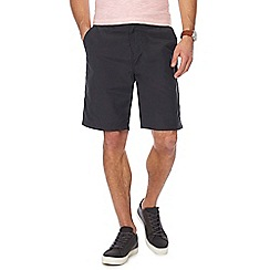 Mantaray - Dark grey regular fit chino style shorts