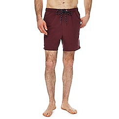 Maine New England - Dark red swim shorts