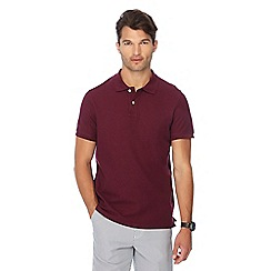 Maine New England - Big and tall wine red beach polo shirt