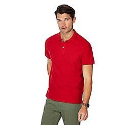 Maine New England - Red beach polo shirt