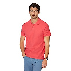 Maine New England - Big and tall pink beach polo shirt