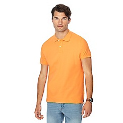 Maine New England - Big and tall orange beach polo shirt