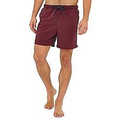 Maine New England - Wine red swim shorts