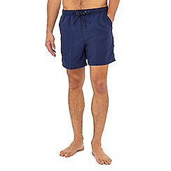 Maine New England - Big and tall navy swim shorts