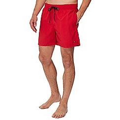 Tommy Hilfiger - Red swim shorts
