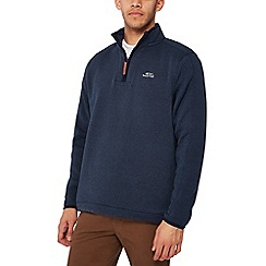 Weird Fish - Big and tall dark blue stowe sweatshirt
