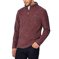 Weird Fish - Wine textured sweatshirt