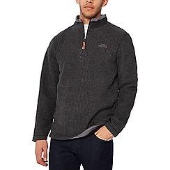 Weird Fish - Grey textured sweatshirt