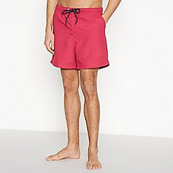 Maine New England - Dark Pink Swim Shorts