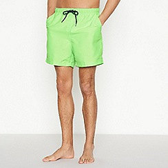 Maine New England - Big and tall lime swim shorts